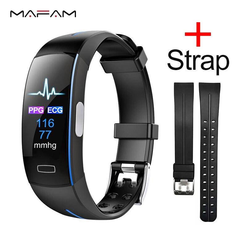 relogio inteligente MAFAM P3 relogio inteligente Além de banda inteligente pulseira de relógio à prova d' água pulseira monitor de freqüência cardíaca ecg inteligente smartwatch relógio de medição da pressão arterial