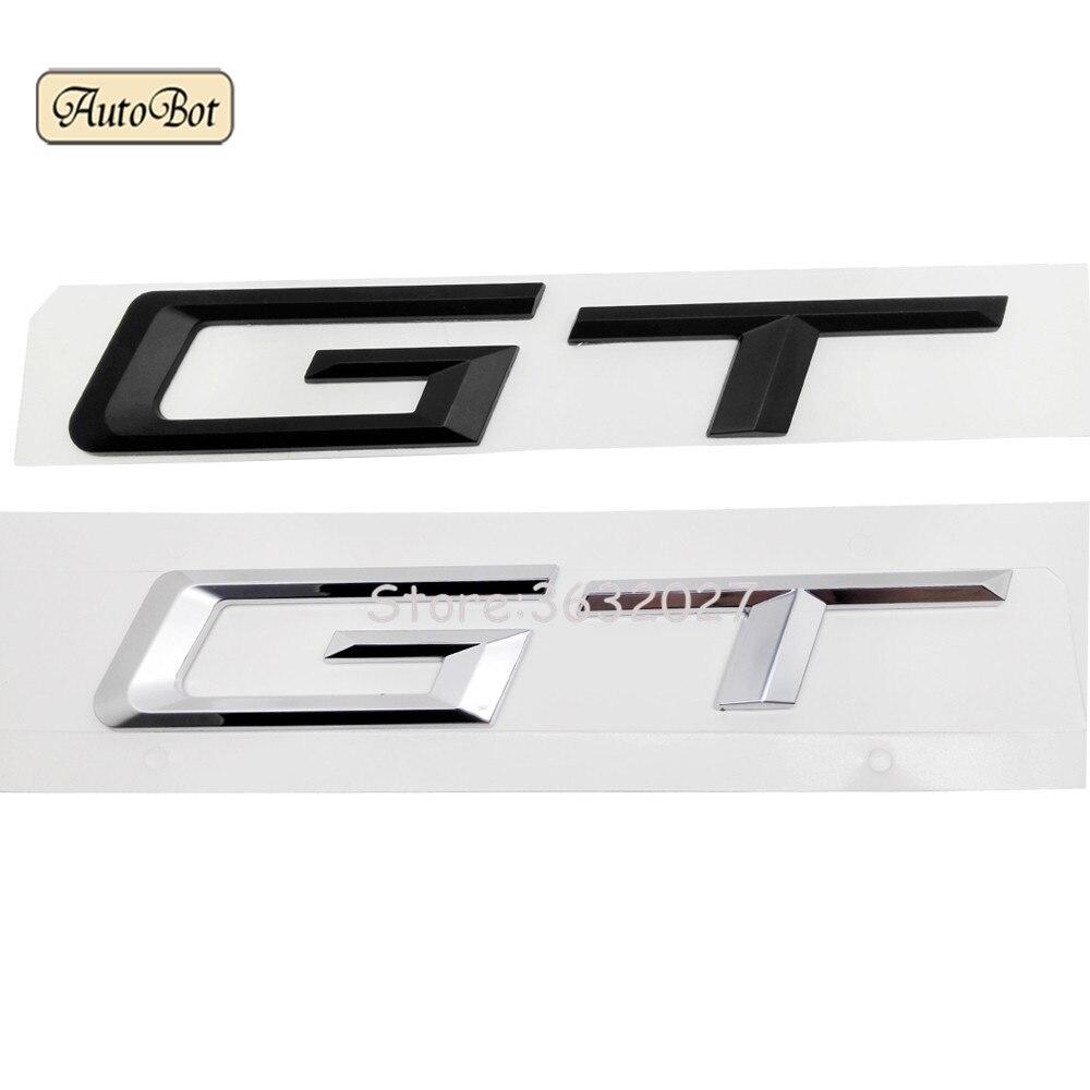 GT Car Refit Displacement Emblems Tail Decor Sticker For BMW 3 5 Series E21 E30 E36 E46 E90 E91 E92 E93 F30 F31 F34 F10 F11 F07 цена и фото