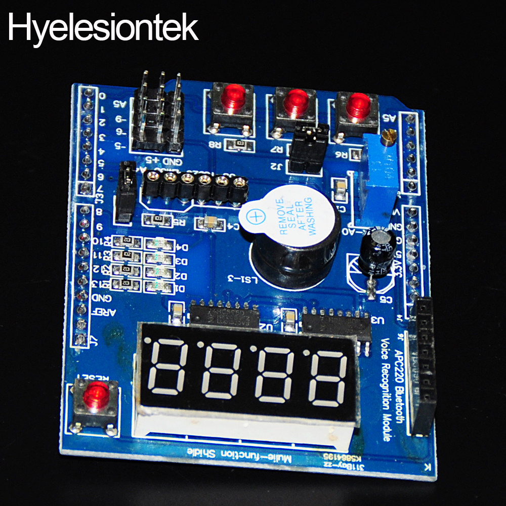 Digital multi function shield expansion board for