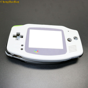 Image 1 - طقم هيكل مكون من 2 قطع مكون من وسادة مطاطية موصلة مع أزرار لتثبيت وحدة التحكم GBA لألعاب الأولاد الصغار