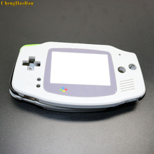 ChengHaoRan 10x Volledige set behuizing shell cover case w/geleidende rubber pad knoppen voor Game Boy Advance GBA console reparatie onderdelen