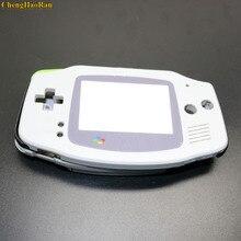 ChengHaoRan 10x juego completo de carcasa, funda carcasa con botones de almohadilla de goma conductora para Game Boy Advance GBA, piezas de reparación de consola