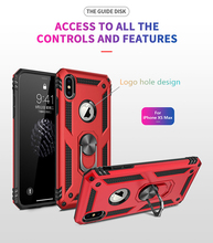 Get more info on the For iPhone se case Armor Shockproof Case Car Holder Grip Ring Case for iphone 7 8 6 6S Plus 5 5s & iPhone X XR XS MAX