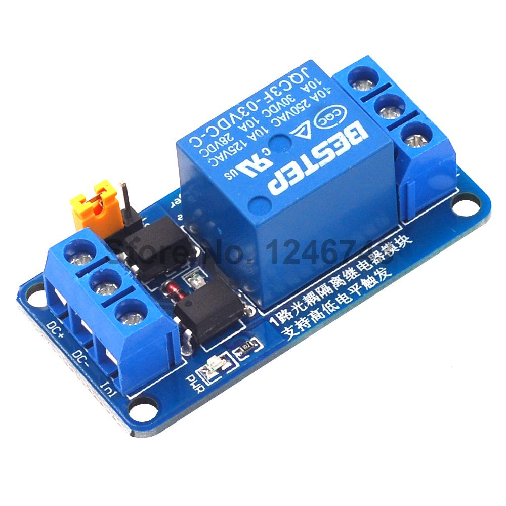 DC 3V//3.3V Relay High Level Driver Modul optocouple Relay Modul AIP