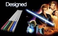 Люки звезда черная серия световой меч Люка Скайуокера джедай синий Вейдер меч 100 см электронная игрушечная лампа может быть небольшим столк