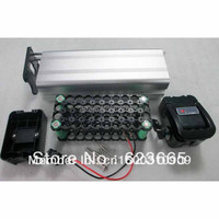 Free Shipping Ebike battery box Electric bicycle battery case for DIY battery pack With free 18650 cell holder 36V batteries box