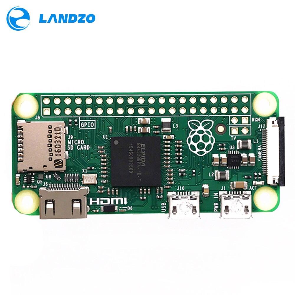 Original Raspberry Pi Zéro Caméra Embarquée Version 1.3 avec 1 GHz CPU 512 MB RAM Linux OS 1080 P HD vidéo sortie