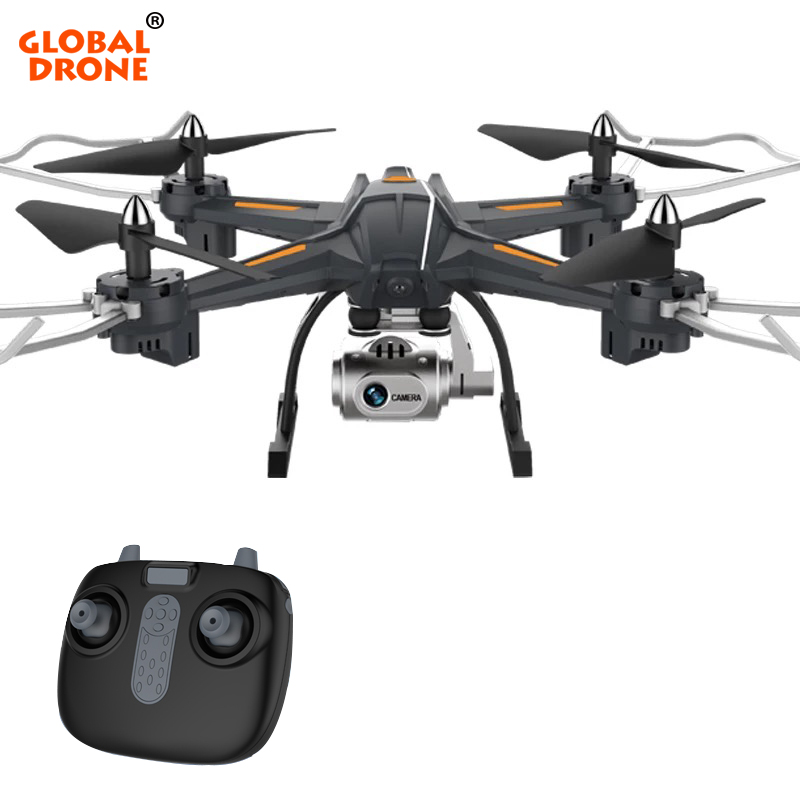 купить Gobal Drone Wifi FPV Drone With Camera HD Wide Angle 1080P Quadrocopter High Hold RC Dron Easy Remote Control Toys for Children по цене 2408.75 рублей