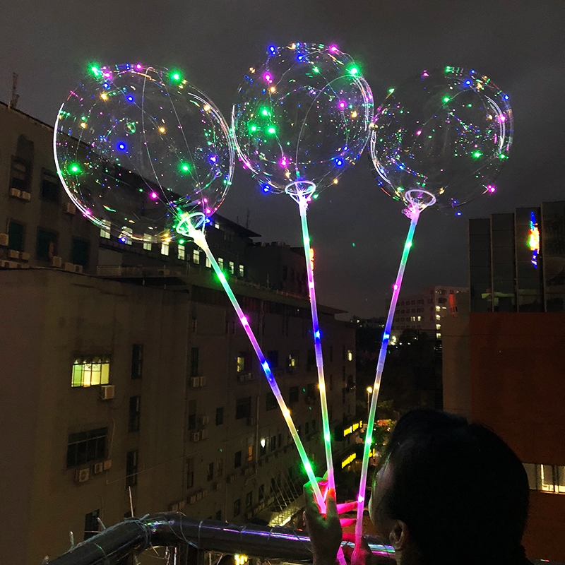 33 length handheld tube LED RGYB lights Air Balloon wedding decoration ball lighting christmas decoration party fairy lights