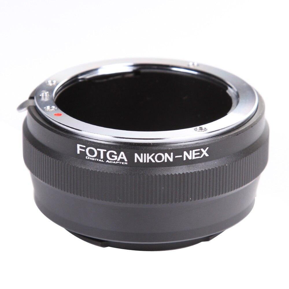 FOTGA Lens Adapter Ring für Nikon AI Objektiv Sony E-Mount NEX-7 6 5N A7 A7S A7R II A6500 A6300 kamera