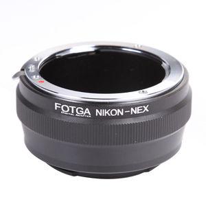 Image 1 - FOTGA עדשת מתאם טבעת עבור ניקון AI עדשה לסוני E הר NEX 7 6 5N A7 A7S A7R השני a6500 A6300 מצלמה