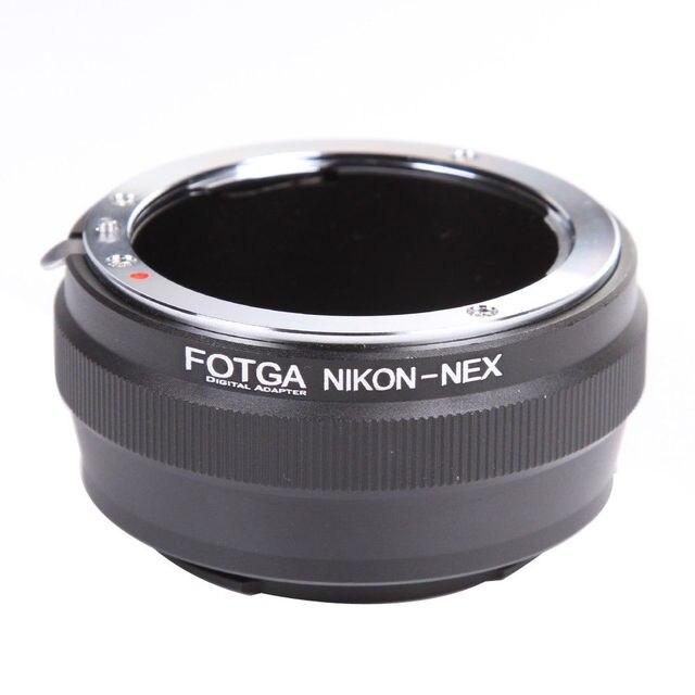 FOTGA עדשת מתאם טבעת עבור ניקון AI עדשה לסוני E הר NEX 7 6 5N A7 A7S A7R השני a6500 A6300 מצלמה