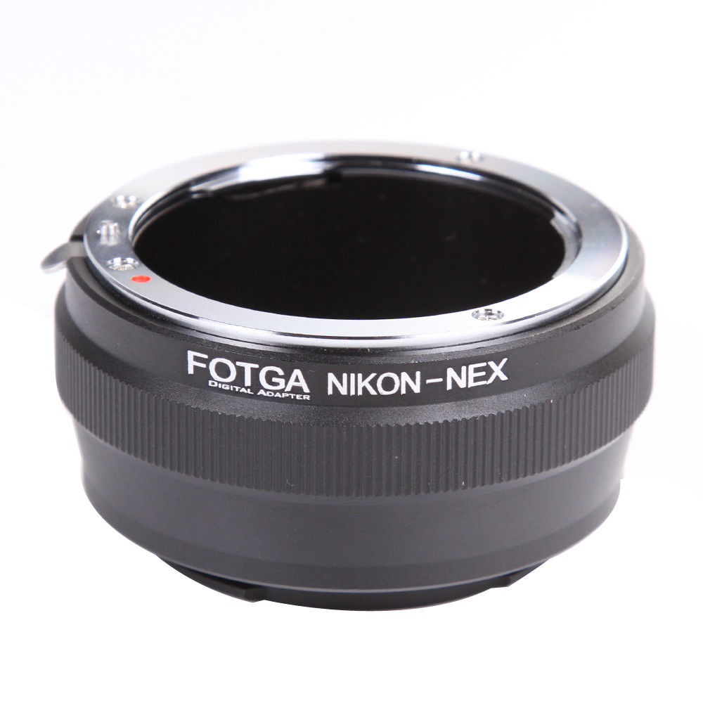 FOTGA Lens Adapter Ring For Nikon AI Lens To Sony E-Mount NEX-7 6 5N A7 A7S A7R II A6500 A6300 Camera
