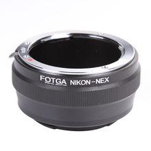 FOTGA Lens Adapter Ring for Nikon AI Lens to Sony E Mount NEX 7 6 5N A7 A7S A7R II A6500 A6300 Camera