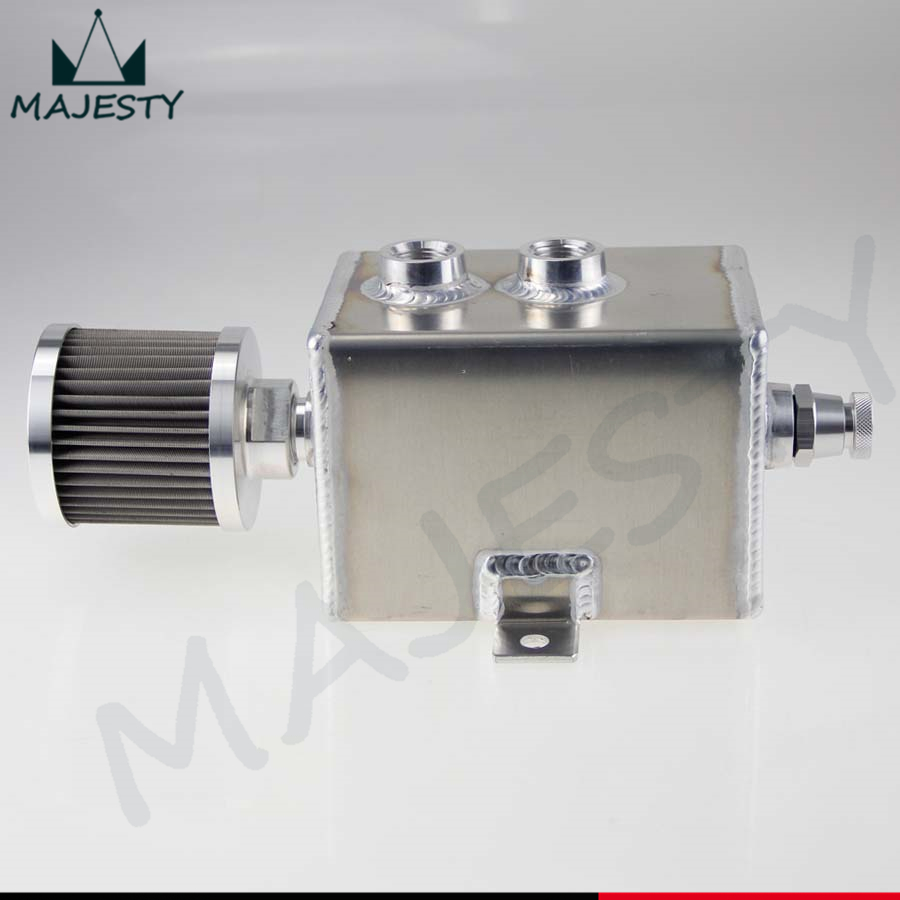 Aliexpress.com : Buy Aluminium 2L oil breather catch tank