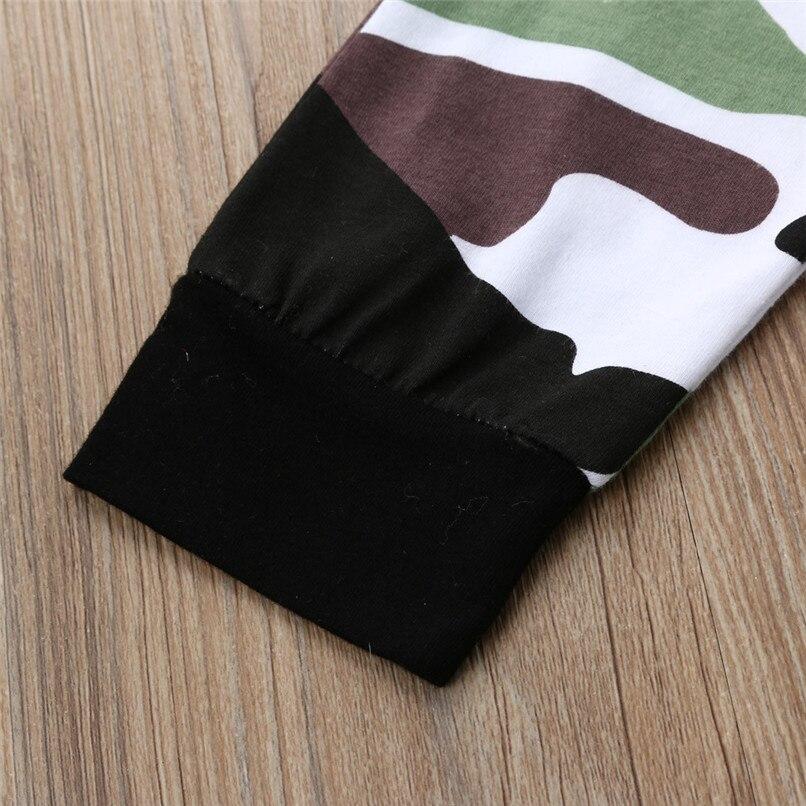 Winter 2PCS Kids Clothes Boys Toddler Kids Baby Boys Long Sleeve Letter Print Tops+Camouflage Pants Set Clothes Kids Sets JY12#F (8)