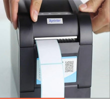 Volumen 1 + 233B de alta calidad etiquetas de regalo etiqueta de la ropa 58mm Térmica impresora de etiqueta de código de barras Qr código no impresora de etiquetas de secado