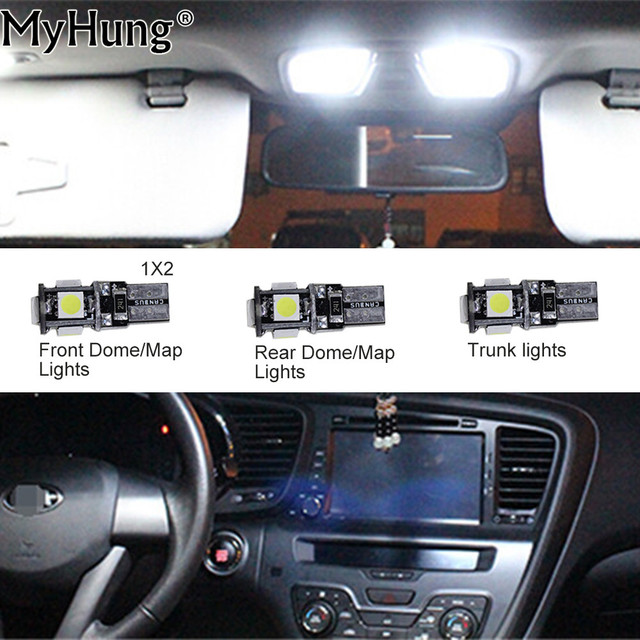 Convenience Bulb Car Led Light C10w W5w For Chevrolet Captiva