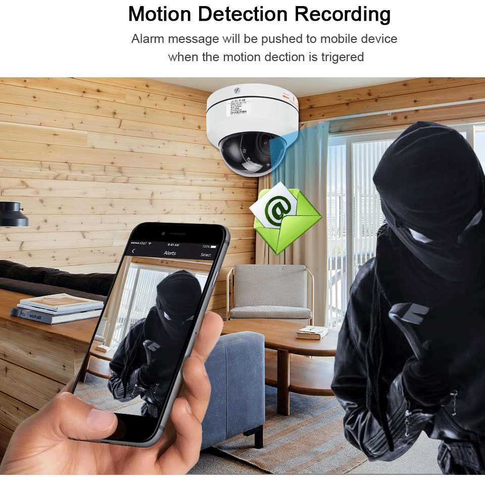 1080 P PTZ Speed Dome Câmera IP 4X 5MP Full HD Onvif Zoom P2P P2P 40 m Visão Noturna À Prova D' Água 2MP Outdoor Dome PTZ POE IP Cam