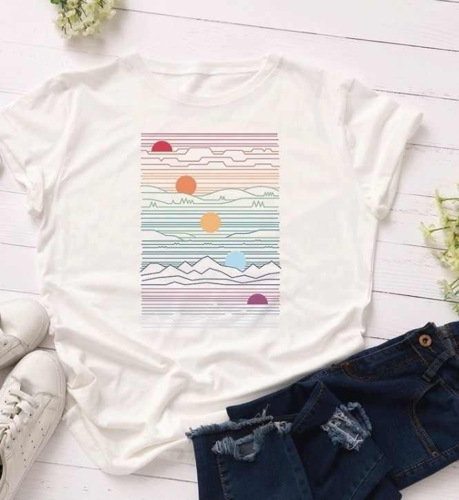 PUDO-XSX Sunrise Happy เลือกชีวิตแฟชั่น Streetwear ตลกวันเกิดของขวัญ Top เสื้อ T 2019 แฟชั่น