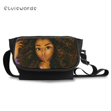 ELVISWORDS Fashion Women Messenger Bags African Girls Patterns Cross Body For Teenager Boys Large Shoulder Bag Mochila