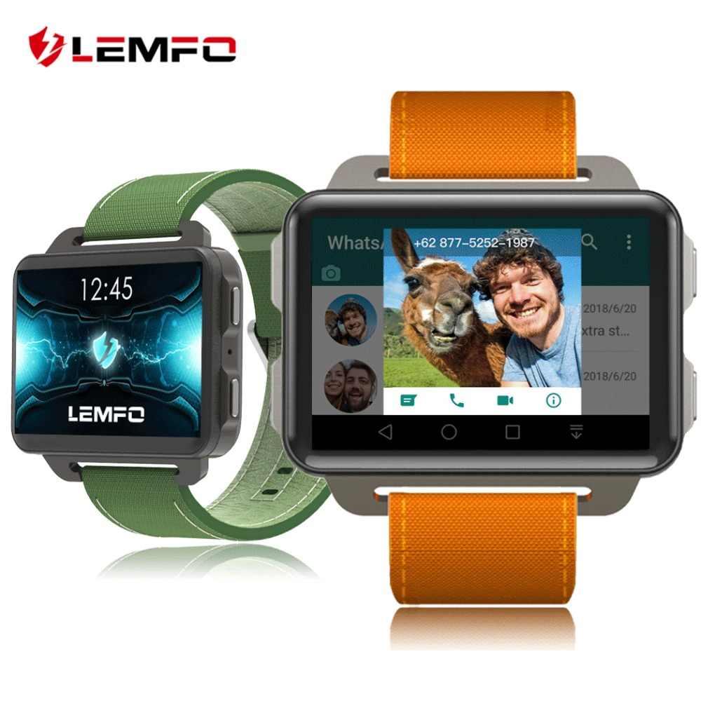 2fcd76c0211c LEMFO LEM4 PRO Android reloj teléfono inteligente 1 GB 16 GB 1200 mAh  batería soporte GPS