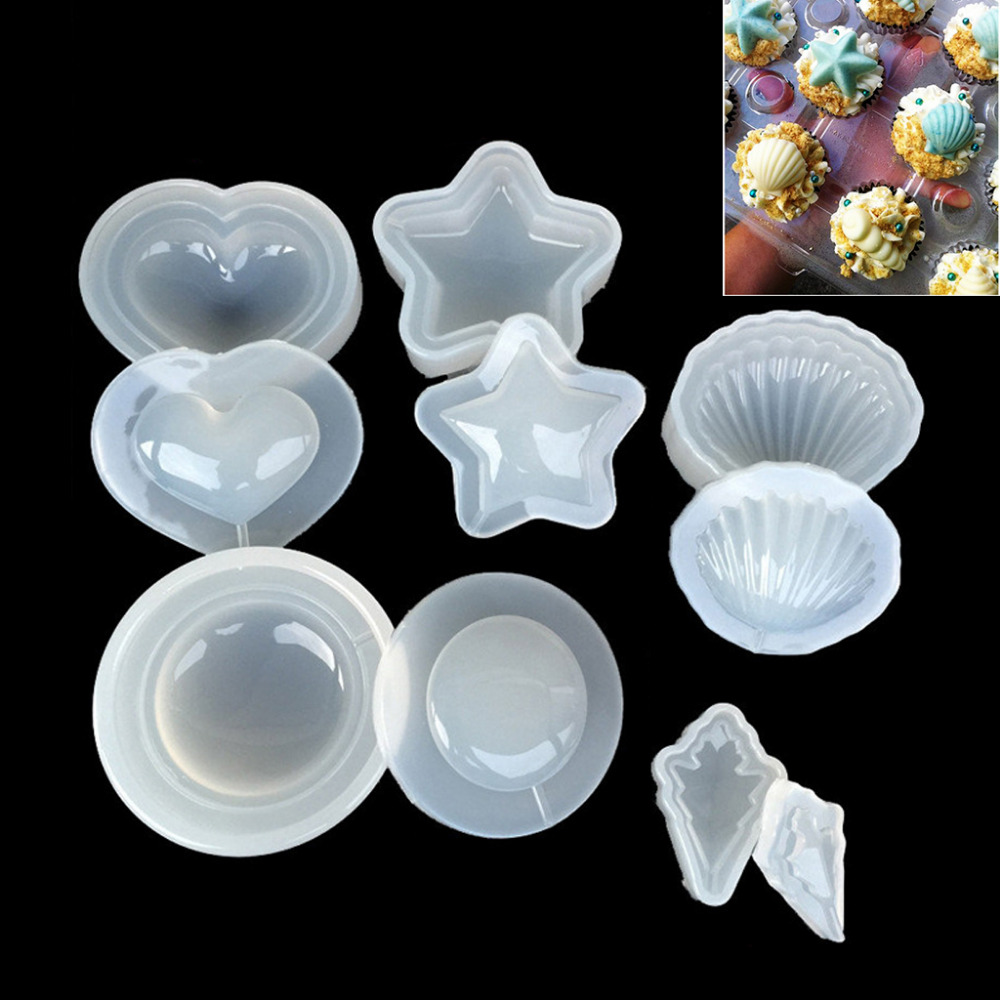 DIY Clear Silicone Mold Making Jewelry Pendant Resin Casting Mould Craft Tool New