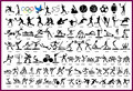 Booklet 15 of the Sports logo series for Temporary Airbrush Tattoo Stencil Template Free shipping