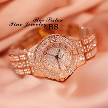 Relogio Feminino Luxury Rhinestone Women Watches 2019 Hot sell Quartz Watch Fashion Ladies Wristwatch  Casual Female Clock hot luxury o t sea brand fashion rhinestone watch women casual leather clock female quartz ladies wristwatch 862