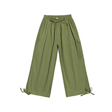 Womens Corduroy Pants Loose Harem Casual New Fairy Seven-Cent 2019 Size S-XXL HJH