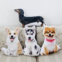 dog plush soft toy pomeranian corgi husky Dachshund doll puppy plushies 1pcs 47cm