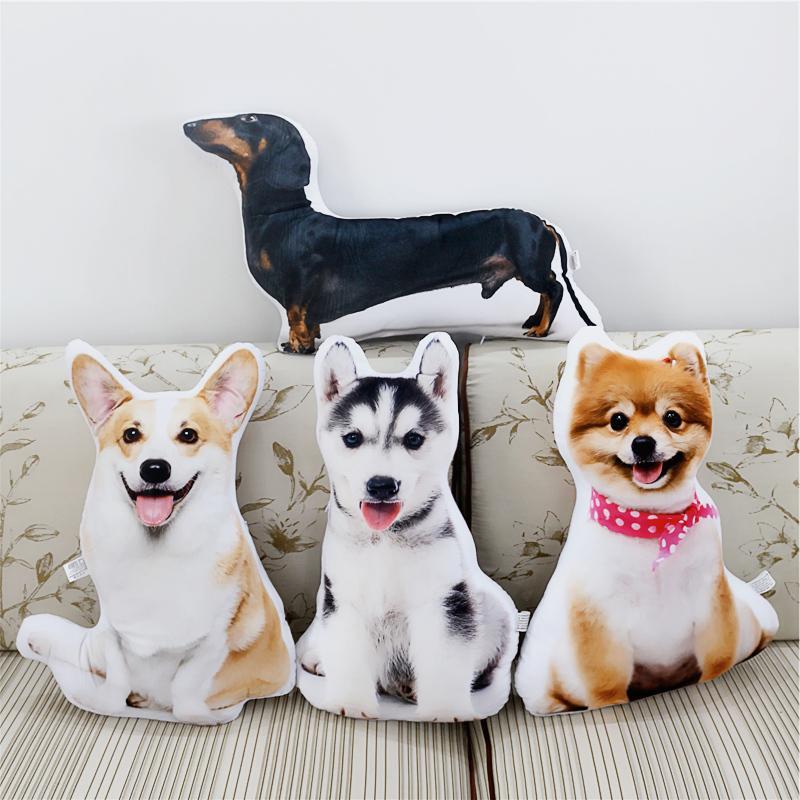 dog plush soft toy pomeranian corgi husky Dachshund doll puppy plushies 1pcs 47cm lps 325 black dachshund dog chien teckel puppy sausage