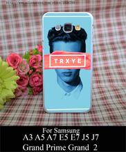 troye sivan trxye Style White Hard Case Cover for Samsung A3 A5 A7 A8 E5 E7