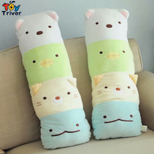 1pc Japanese Animation Sumikko Gurashi Doll Cats Bear San-X Corner Bio Pillow Cartoon Plush Toy Baby Kids Birthday Gift Triver