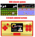2.6 inch Preload 600 Classical Different Mini Games Handheld Game Console Game Player Support Classical Games