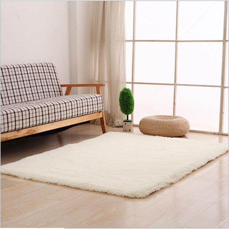 100*200 cm 4.5 cm épaissir tapis de mode tapis pour salon salle à manger chambre anti-dérapant tapis Shaggy