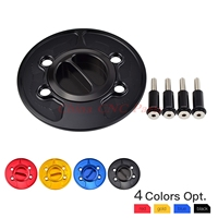 Motorcycle Keyless Fuel Gas Cap Anodized For BMW F650 F700 F800 GS GT HP2 HP4 K