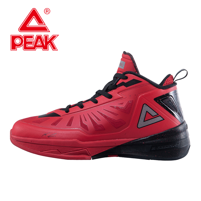 PEAK SPORT LIHTIN III Men Basketball Shoes Star Series Boots FOOTHOLD Cushion-3 Tech Breathable Athletic Sneakers EUR 40-50 peak sport authent men basketball shoes wear resistant non slip athletic sneakers medium cut breathable outdoor ankle boots