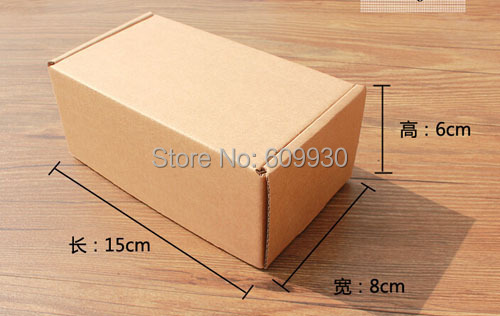 Free shipping wholesale 35pcs/lot 15*8*6cm corrugated board gift packaging box,mailing packaging box
