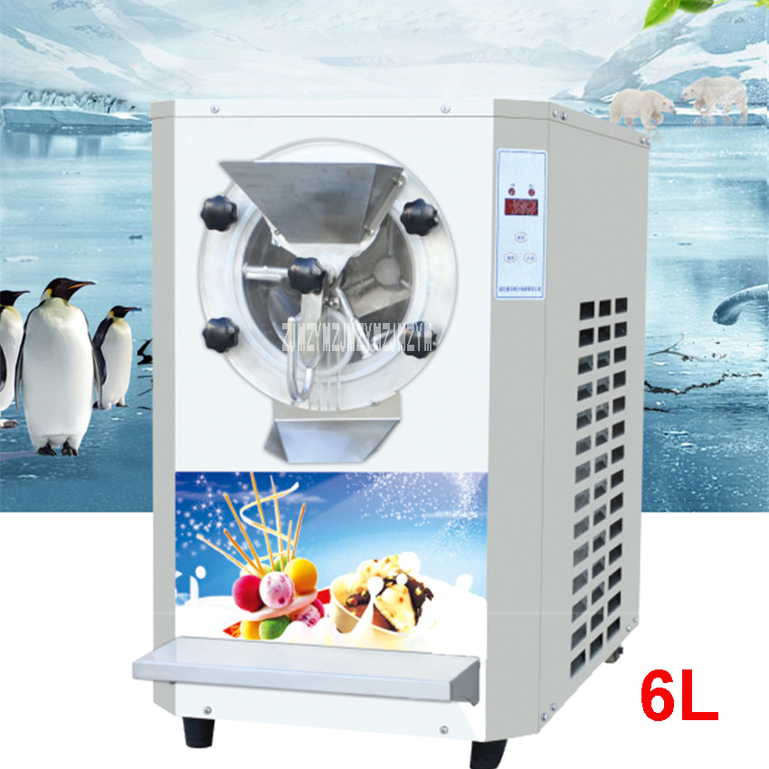 YB7120-TW 110V/220V 20L /H Commercial Vertical Ice Cream Machine,Freezer Machine, Ice Cream Maker, Hard Ice Cream Makers 2800W