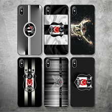 Yinuoda Besiktas Futbol Kulubu Phone Case Picture For Burak Yilmaz Silicon Soft TPU Cover For iPhoneX XR XS MAX 7 8 7plus 6 6S 5 туфли burak uyan