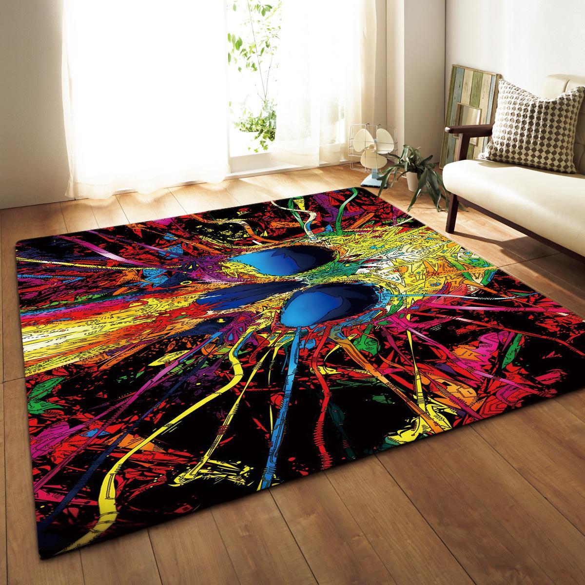 Grand Europe tapis tapis doux flanelle salon tapis décor à la maison chambre d'enfants tapis de jeu navire ancre tapis pour salon 115