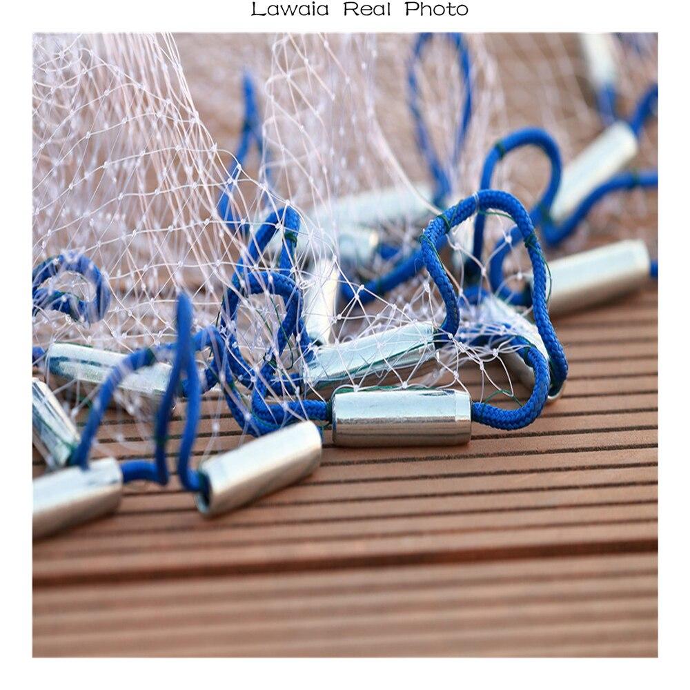 de pesca mão fundição rede de peixes tarrafa de pescar