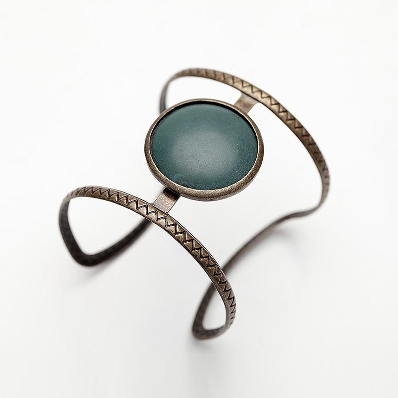Vintage Boho Εθνική προσομοιωμένη μεγάλη - Κοσμήματα μόδας - Φωτογραφία 4
