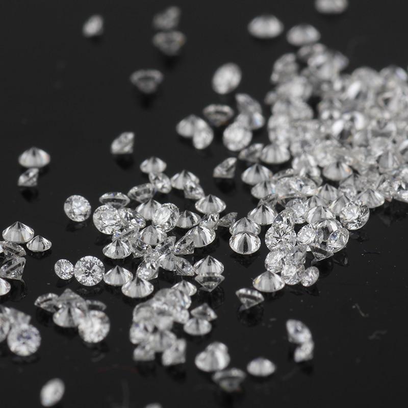 Starsgem 20 pièces 3m D VS HTHP rond brillant coupe laboratoire cultivé diamant de laboratoire de haute qualité pour le réglage de bijoux de mode