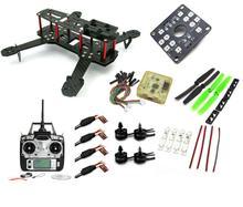 Carbon Fiber Mini QAV250 C250 Quadcopter Frame Motor 12A Esc CC3D Flight Control FPV