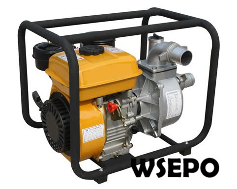 Factory Direct Supply! 2 In. Inlet and Outlet Clear Aluminum Water Pump Powered by WSE 168F 196cc 3.5HP Diesel Engine