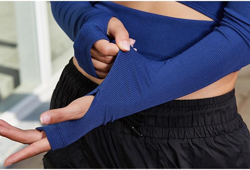 women yoga shirts tops (9)