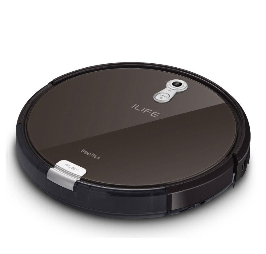 Робот Пылесосы для автомобиля iLife X660 Вакуумный Швабра развертки 3 в 1 очиститель для домашних животных подключен робот aspirador