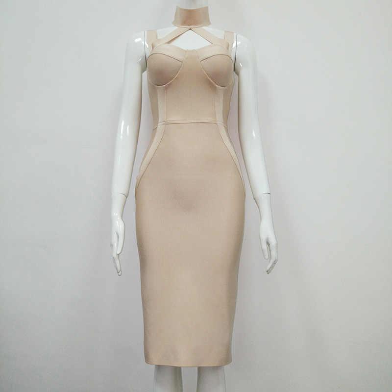 Белое красное женское Бандажное Платье облегающее эксклюзивное сексуальное платье Вечерние платья ночной клуб одежда уникальный дизайн платье на бретельках